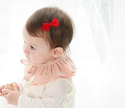 """Ruyaa Tiny 2"""" Hair Bows Fully Clips Fine Hair Infants"""