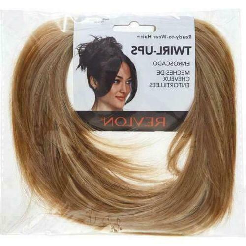 twirl ups dark blonde hair