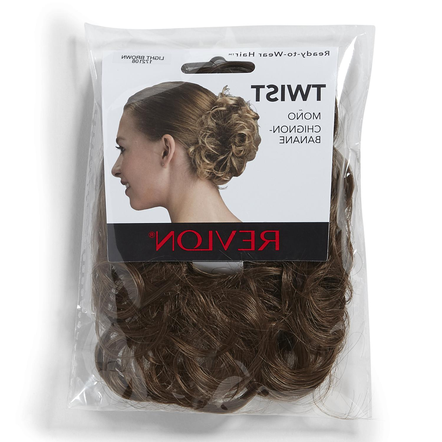 twist spare hair curly updo synthetic hairpiece