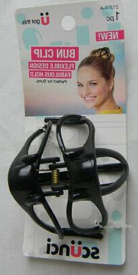 Scunci U Got this new Bun Clip Flexible Design Fabulous Hold