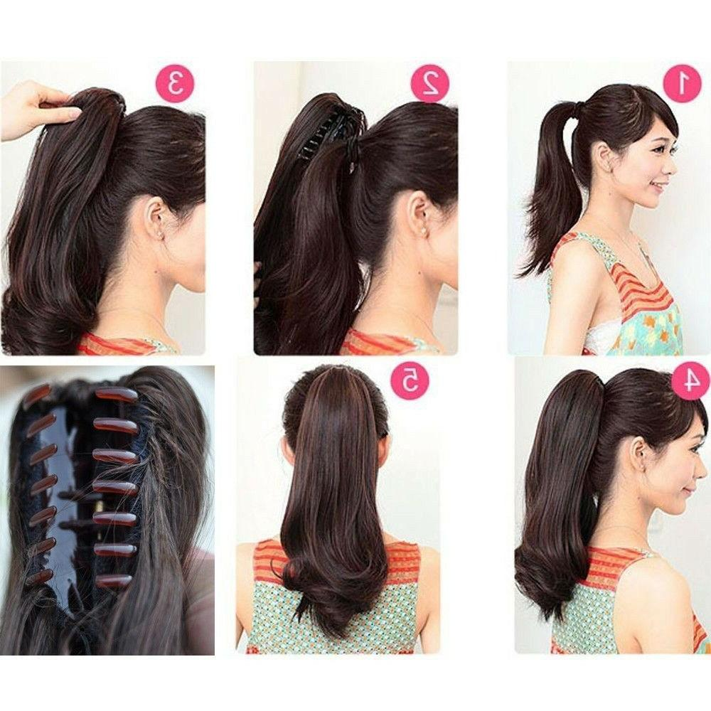 US New Extension Around Ponytail