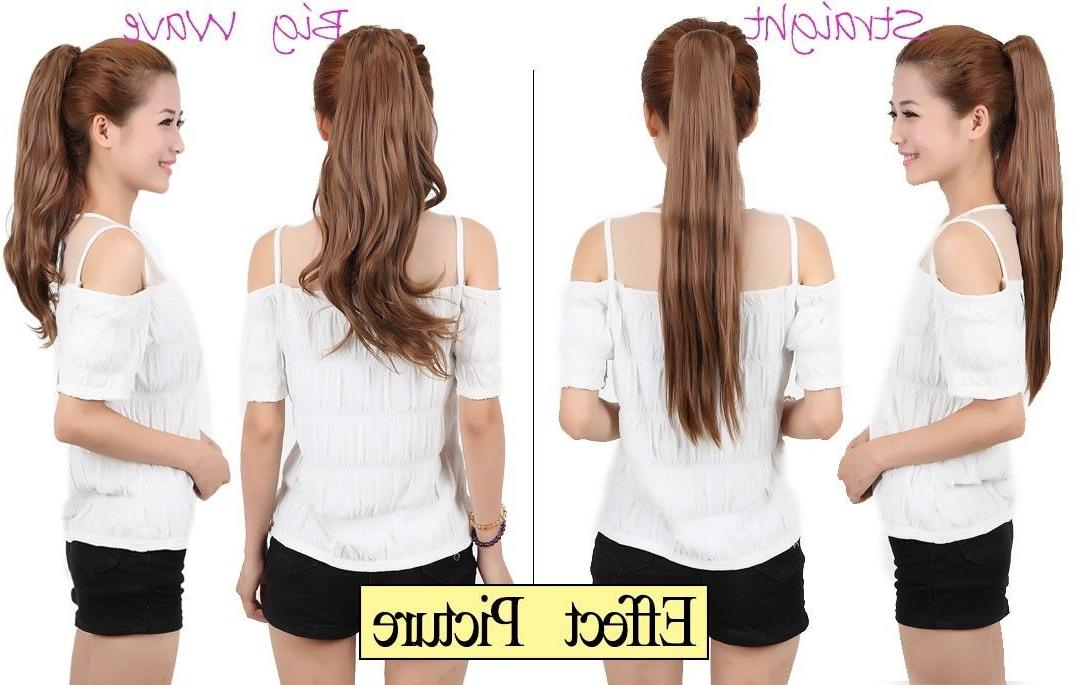 New In Hair Extension Pony Around Ponytail