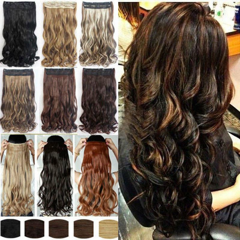 us 1pcs 100 percent natural hair clip
