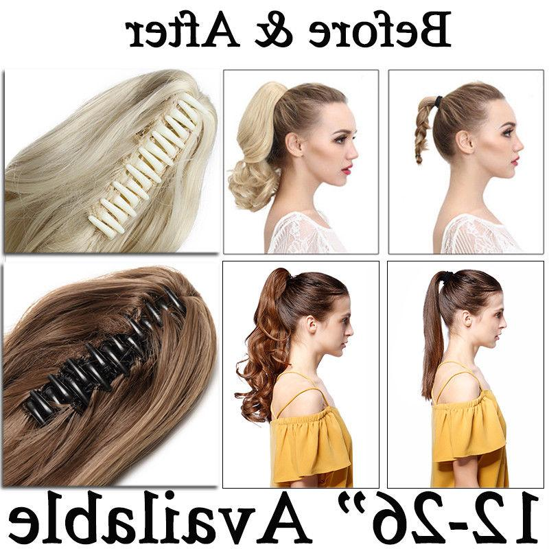US Hair Extensions Pony Tail Hair Buy1Get10%