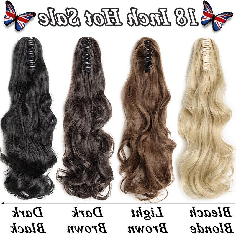 US Hair Extensions Claw Tail 100% Buy1Get10%