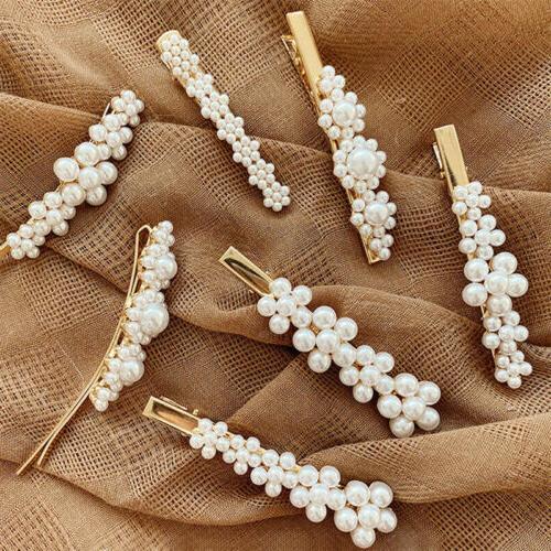 USA Pearl Clip Hairband Pin Hairpin