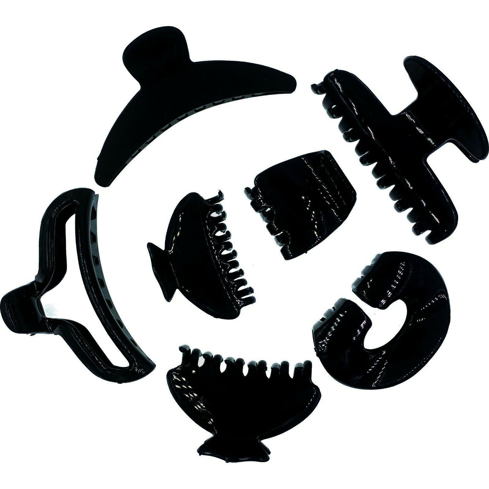 usa black plain classic simple chunky acrylic