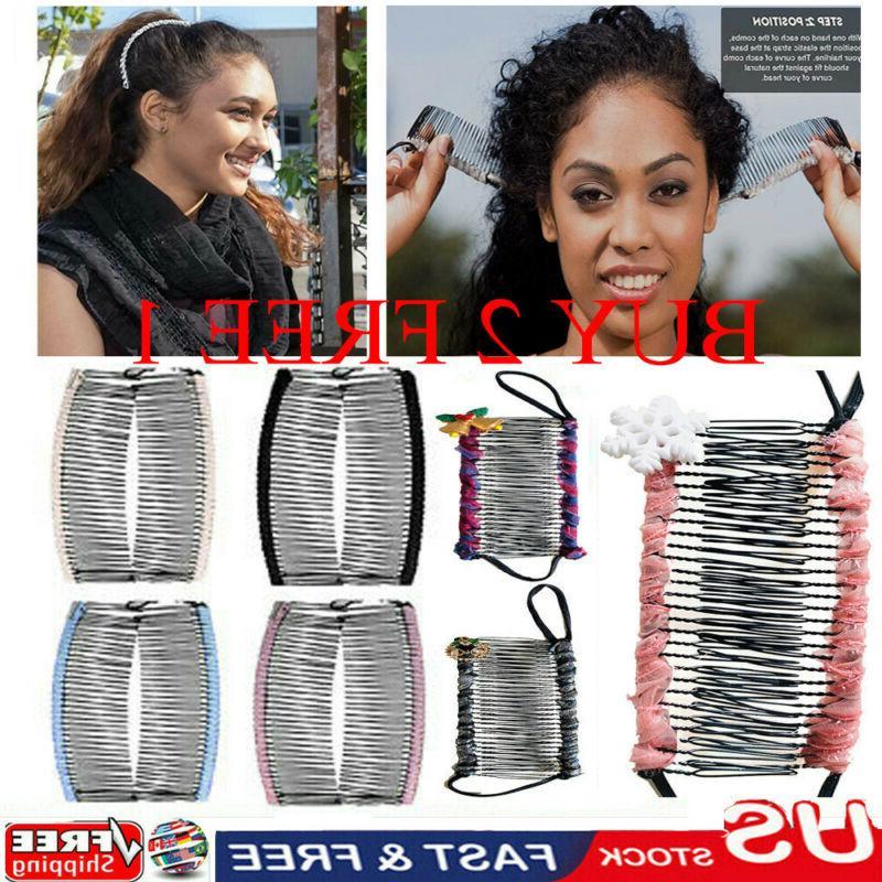 vintage banana hair clip christmas hair accessory