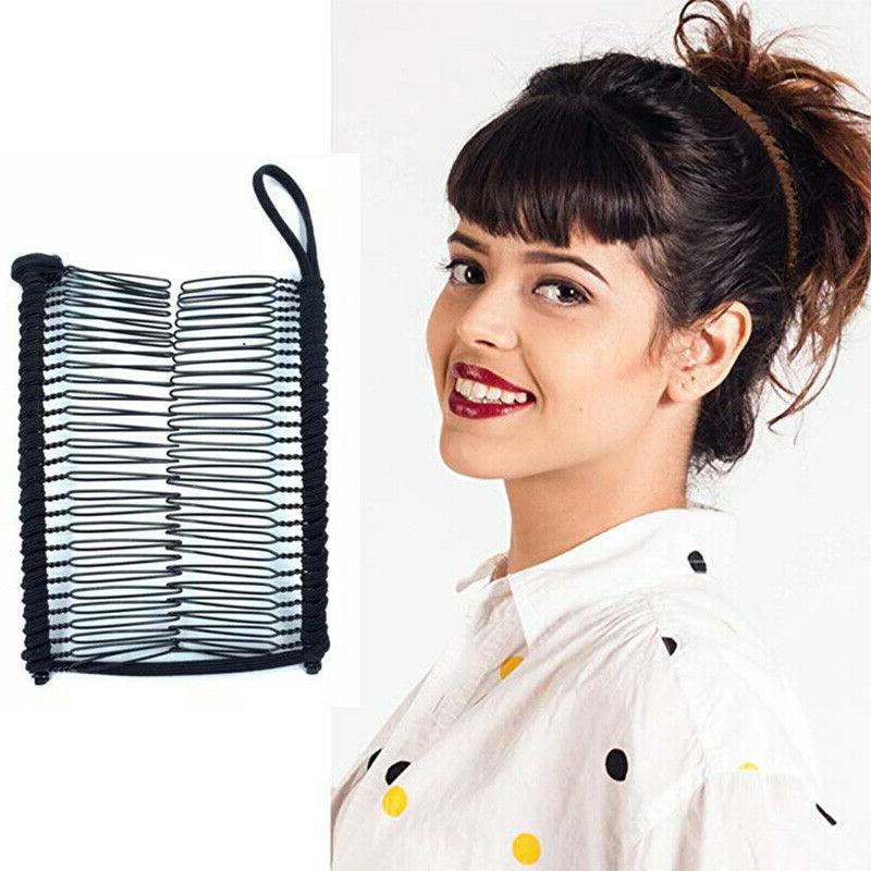 Fashion Women's Magic Banana Hair Comb Clip Slide Pins Hair