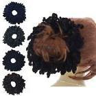 Volumising Scrunchie Velvet Big Hair Tie Bun Clip Hijab Scar