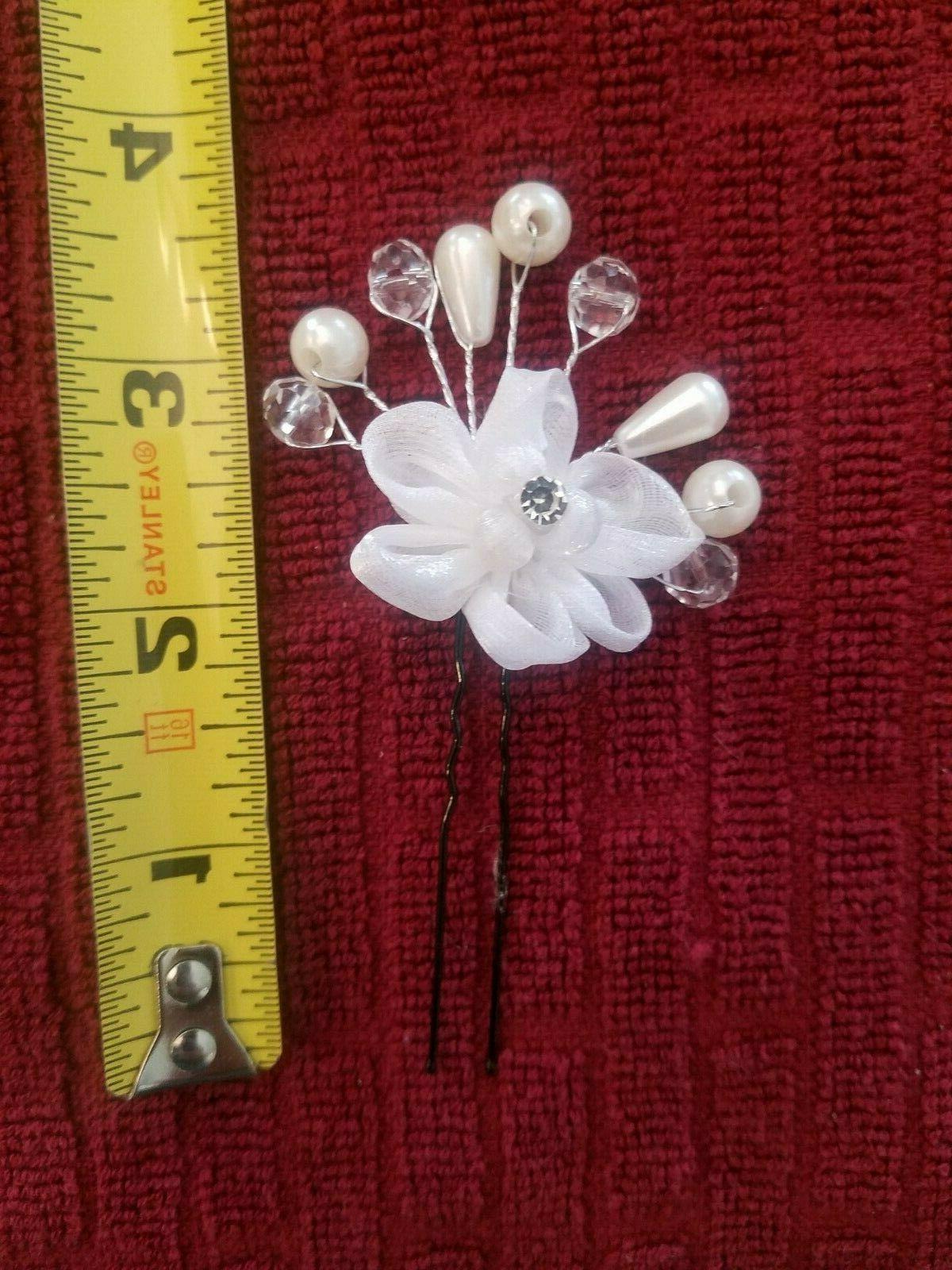 Wedding Pearl Clip Head wear Hairpin Accessories USA