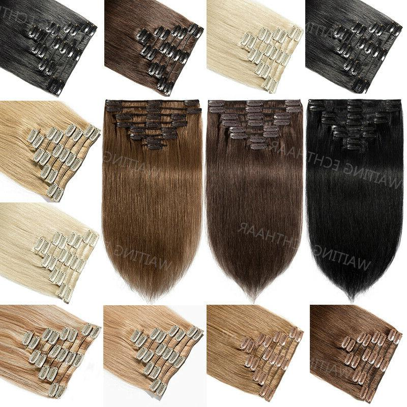 wholesale clip in 100 percent remy human