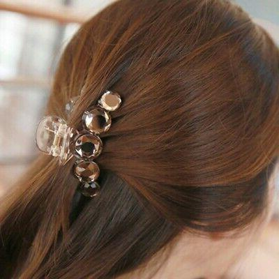 Women Hair Clamp Rhinestone