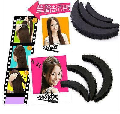 women fashion hair styling clip stick bun