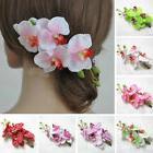 Women Flower Hairpin Hair Clip Cosplay for Kimono Hanfu Brid