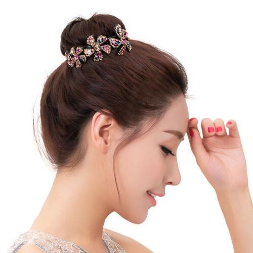 Girls Crystal Claw Comb Bride Gift Fashion