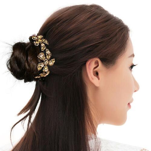 Girls Claw Ponytail Bun Comb Fashion
