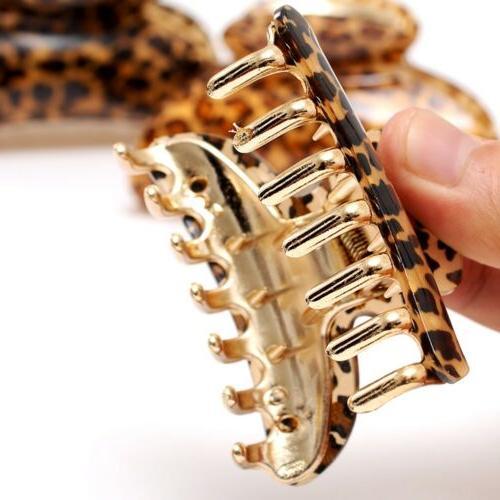 Women Leopard Clamp Accessories Hair Clip Claw