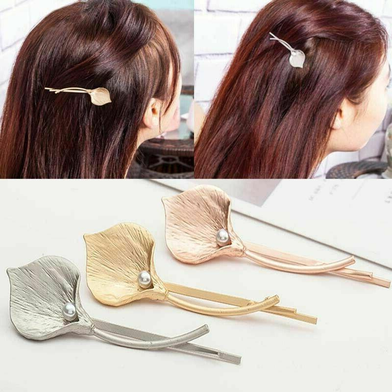 Fashion Accessories Leaf Hairpin Clip