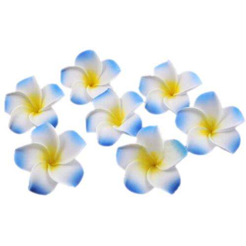 Women Plumeria Flower Hair Clip Accessories Wedding
