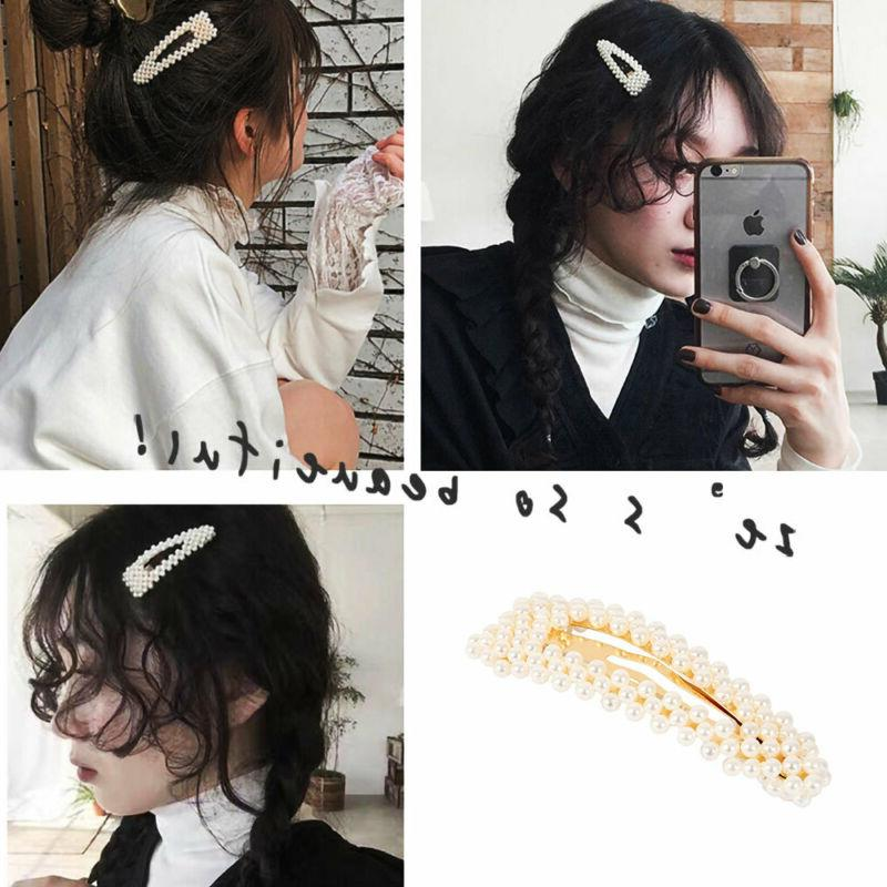Women's Girls Hair Clip Hairpin Barrette Clips Accessories
