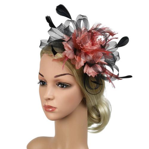 Feather Party Hat
