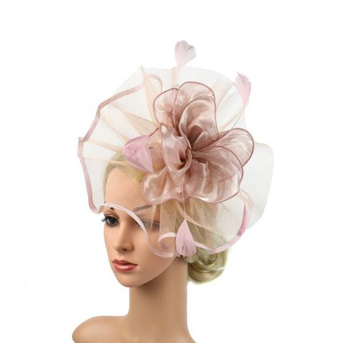 Women's Hair Feather Bridal Party Fascinator