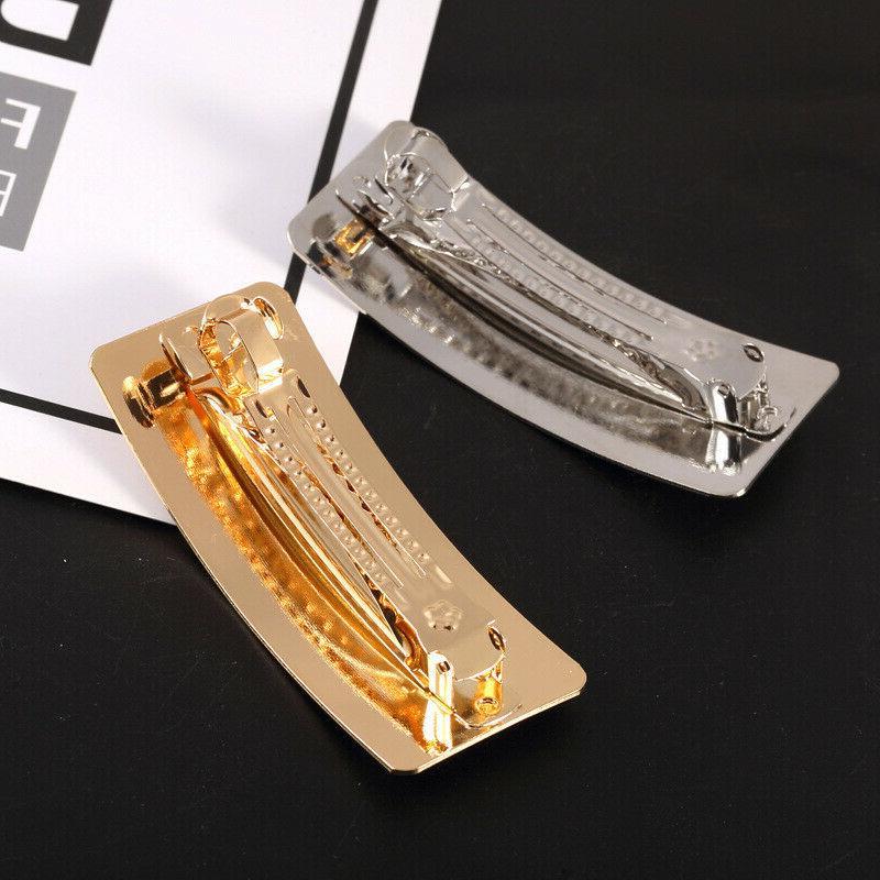 Women's Metal Hairpin Pins Ponytail