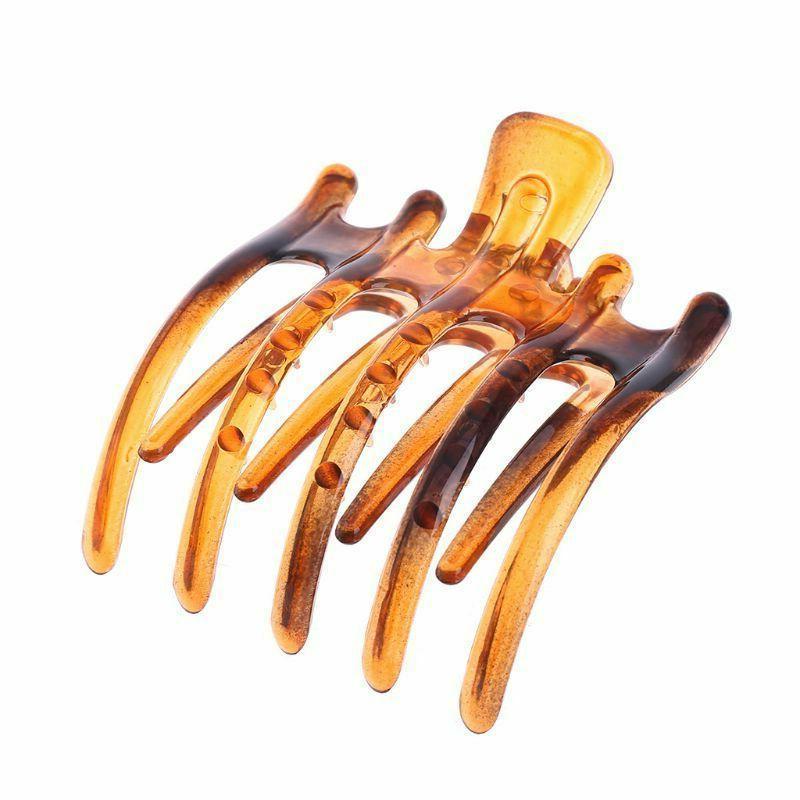 Women's Simple Non Slip Grip Large Claw Hair Clip Clamp Fash