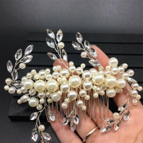 Women's Clip Pearl Flower