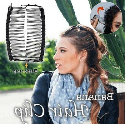 Women Clip Hair Stretchable Comb