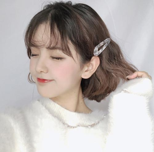 Women Hair Clip Shell Slide Barrette Hairpin