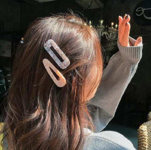 Fashion Women Acrylic Barrette Stick Hairpin