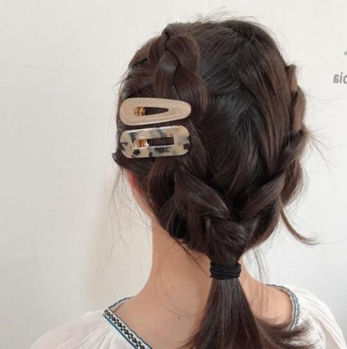 Acrylic Hair Barrette Stick