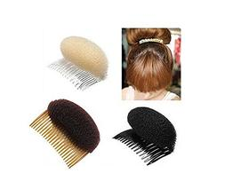 2PCS Women Lady Girl Magic Hair Styling Clip Do Beehive Hair