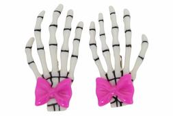 lost queen goth spooky cute skeleton hands