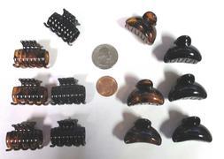 LOT OF 12 PCS-1 INCH LONG HAIR CLIPS  EJC870BT