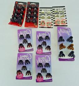 Lot of 54 Pieces Goody Revlon Gimme Small Mini Claw Clips Ja