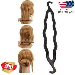 magic hair twist styling clip stick bun