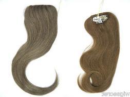 Medium Long Human Straight Clip-in-Extensions Hair Piece 12