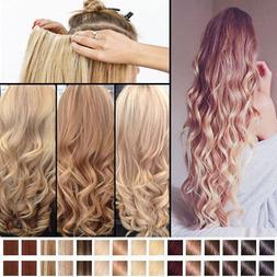 MEGA Thick 100% Natural Clip in Hair Extensions as Human Blo