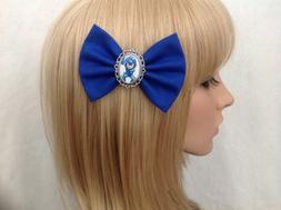 Megaman x hair bow clip rockabilly pin up girls Nintendo meg