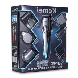 KEMEI Mens Electric Hair Cut Clipper Beard Shaver Machine Ra