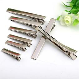 Metal  DIY Crocodile Clamp Hairpin  Duckbill Clip Alligator