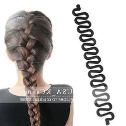 New 2 PCS Accessories Women Magic Hair Braid Clip Styling St
