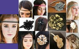 NEW Paparazzi Accessories Hair Clip Hippie Headband Flower H