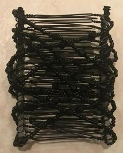 new beautiful interlocking black comb decorative hair