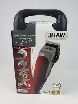 New Wahl Fade Cut Hair clippers electric Kit 16pc. Set Home