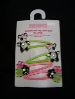 New NWT GYMBOREE Hair Accessories Clip Bow Barrettes Pony Cu