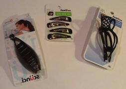 New Scunci Hair Accessories 1 Up Do + Banana Clip / 4 No Sli
